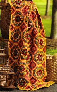 Gorgeous autumn crochet, color palette for bedroom blanket. If I would stay off of Pinterest, I could get this made! Beautiful.