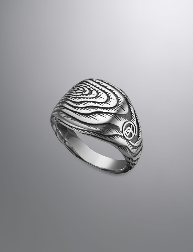 Ironwood Cushion Ring | Men Rings | David Yurman Official Store