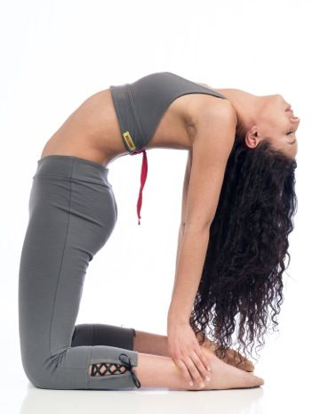 Beckons Organic Love Lace-up Capri Legging Grey @ www.downdogboutique.com  $65.00 #OrganicYogaClothes #YogaClothing #Yoga