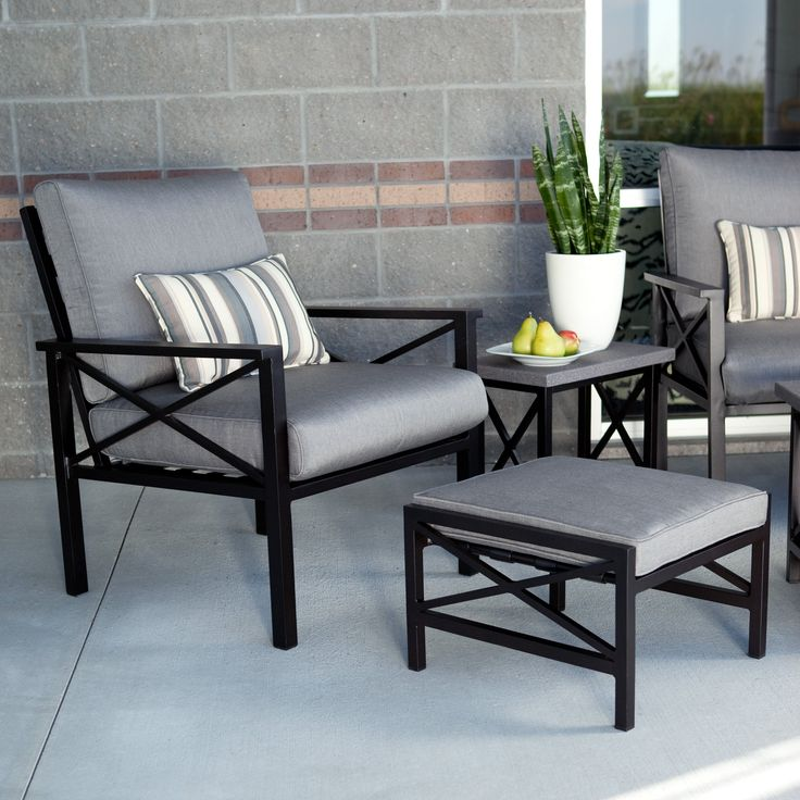 Have to have it madison outdoor lounge chair with ottoman