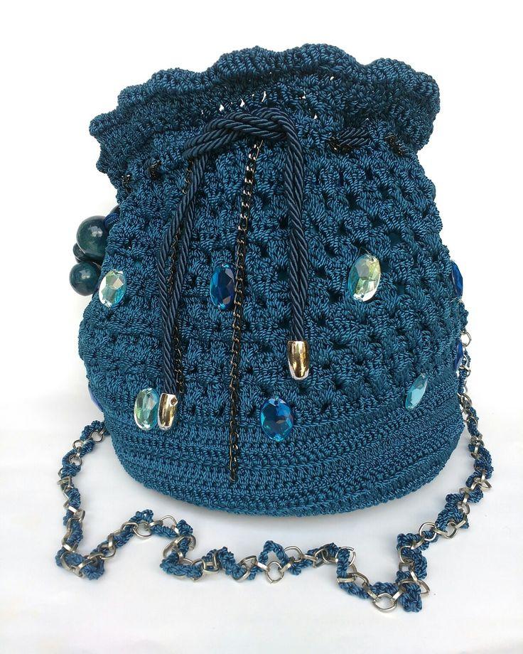 Blue sling bag😘
