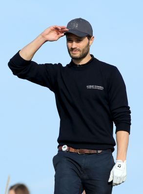 Jamie Dornan at Alfred Dunhill Links Championship Golf on October 2