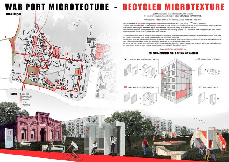 "Architecture competition ""War Port Microtecture"" honorable mention - Ieva Stradiņa / Ieva Landmane"