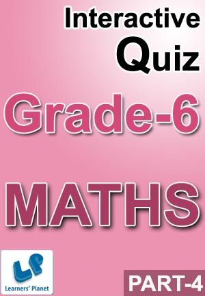 6-CBSE-MATHS-PART-4 Interactive quizzes & worksheets on Divisibility rules and Factors & multiples for grade-6 CBSE Maths students. Total Questions : 320+ Pattern of questions : Multiple Choice Questions   PRICE :- RS.61.00