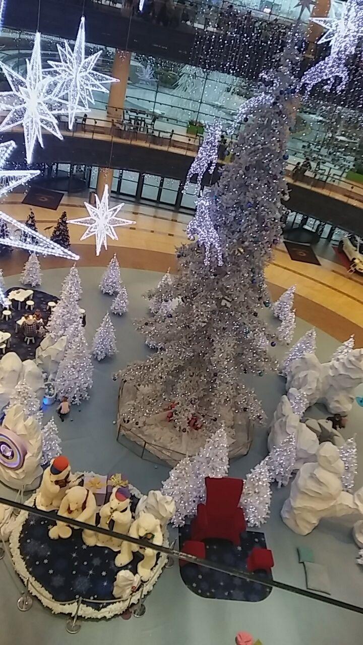 Świąteczna choinka / Christmas tree | Cuprum Arena | Lubin (Lower Silesia Voivodeship), Poland