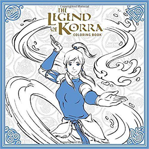 The Legend Of Korra Coloring Book Avatar Last Airbender By Nickelodeon