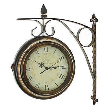 aspire rialto twosided train station clock