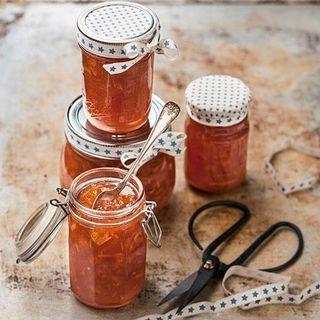 Marmelad på blodapelsin