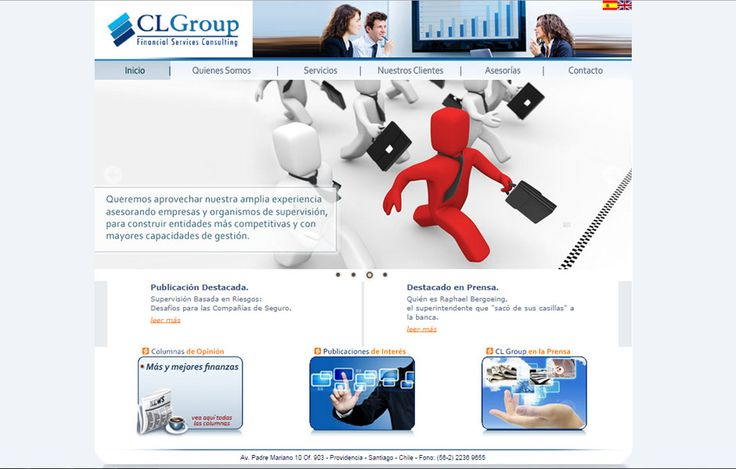 Home page (2013) www.clgroup.cl