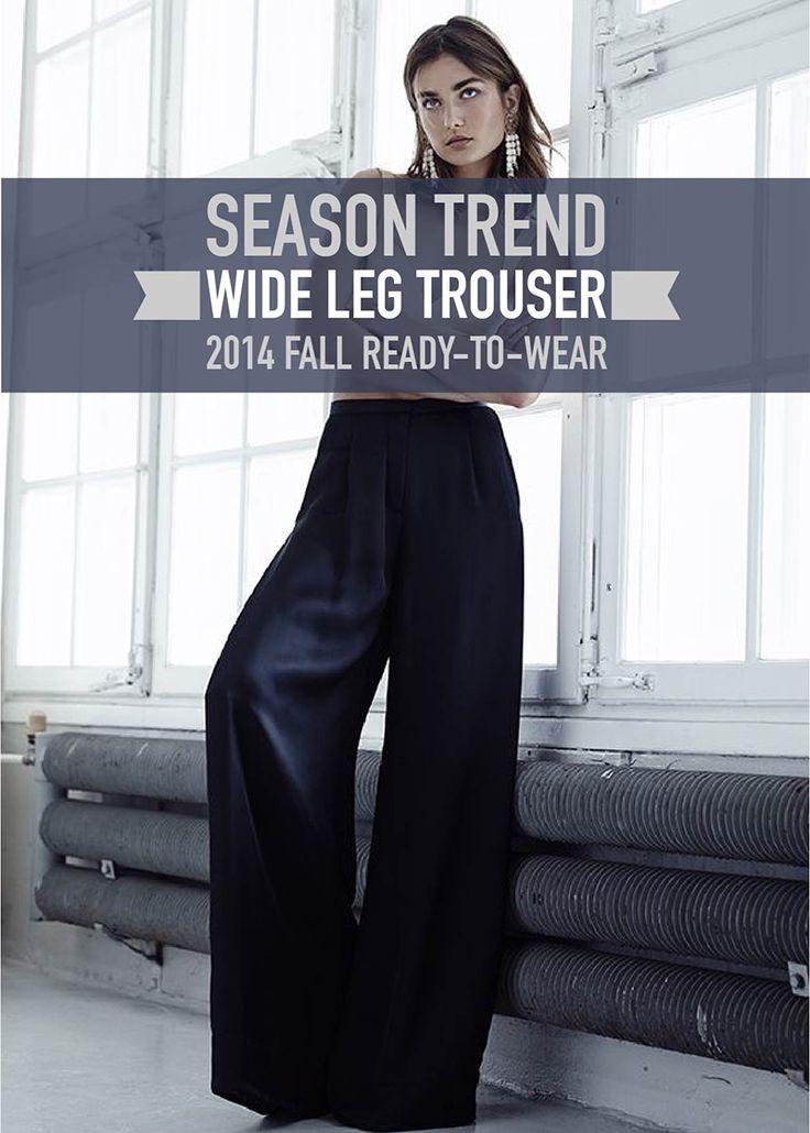 Wide Leg Trouser Trend