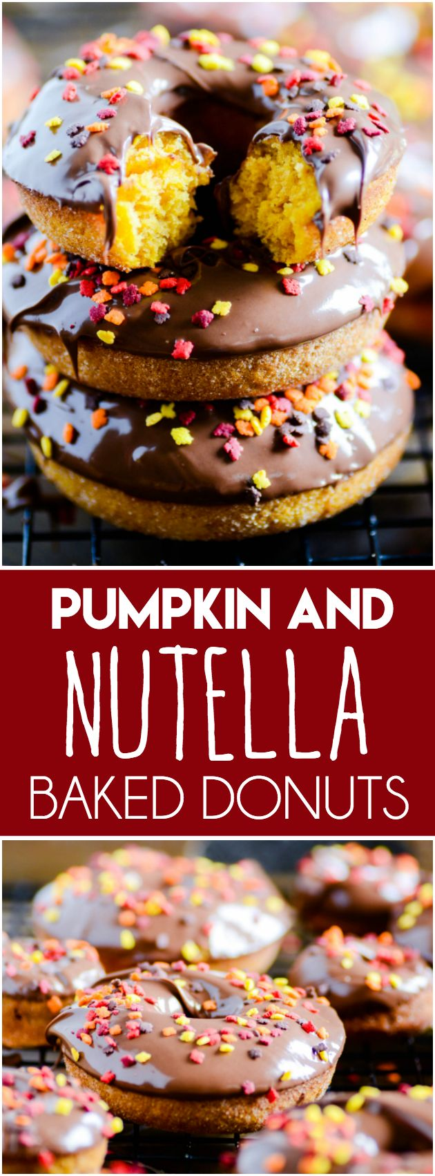 Baked Pumpkin Nutella Donuts http://www.somethingswanky.com/pumpkin-nutella-donuts-the-yeasty-kind/?utm_campaign=coschedule&utm_source=pinterest&utm_medium=Something%20Swanky&utm_content=Baked%20Pumpkin%20Nutella%20Donuts