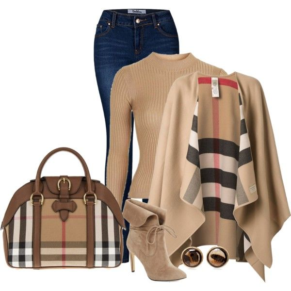 Untitled #1567 by bsimon623 on Polyvore featuring Topshop, Burberry, 2LUV, 424 Fifth and Chico's