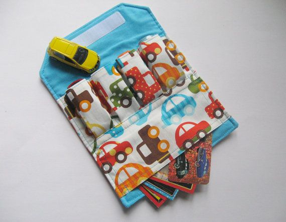 Big Toy Car Holder : Best images about fabric scraps small projects to