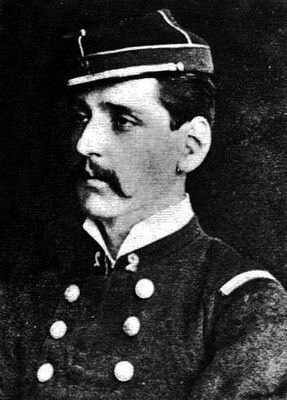 Francisco Segundo Moreno, Subteniente del Regimiento 2° de Línea. Murió en la Batalla de Tarapacá.