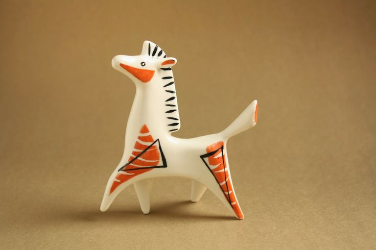 Art deco porcelain: Horse - Drasche