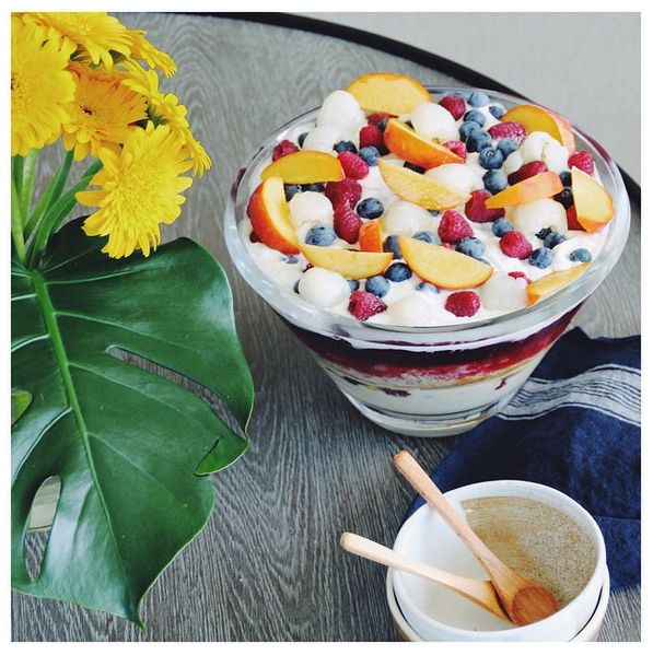 Pete Evans Paleo Christmas Trifle | The Gratitude Project