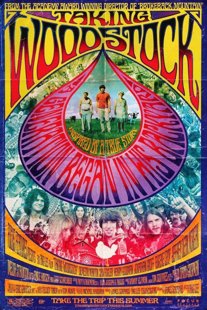 Taking Woodstock (2009) Original One-Sheet Movie Poster