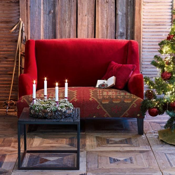 Die besten 25+ Sofa rot Ideen auf Pinterest Rote couch, Rotes - wohnzimmer braun rot