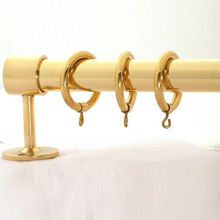 6 Ft Shower Curtain Part - 19: Classic Brass Tubing - 040 - 6 Ft Length. Brass Curtain RodsCurtain Hardware Shower ...