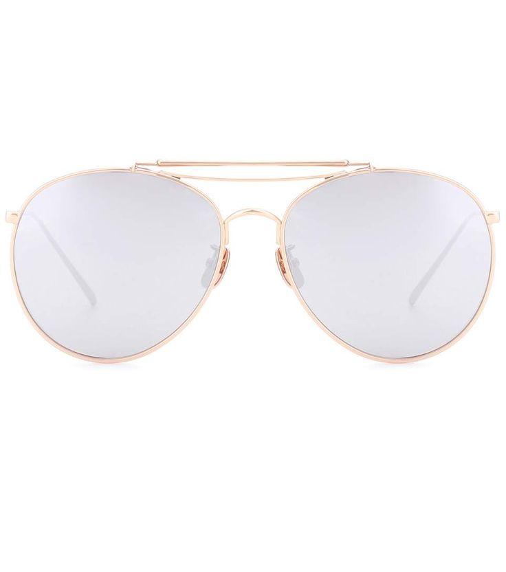 GENTLE MONSTER Big Bully Aviator Sunglasses. #gentlemonster #sunglasses
