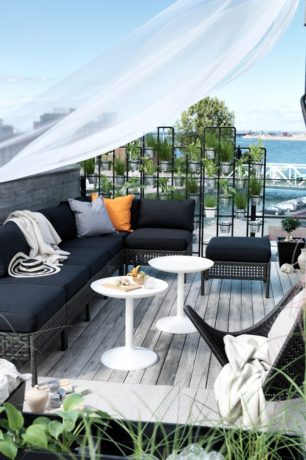 Create a perfect soulful spa retreat with this outdoor setting from Ikea. theguideonline.com.au