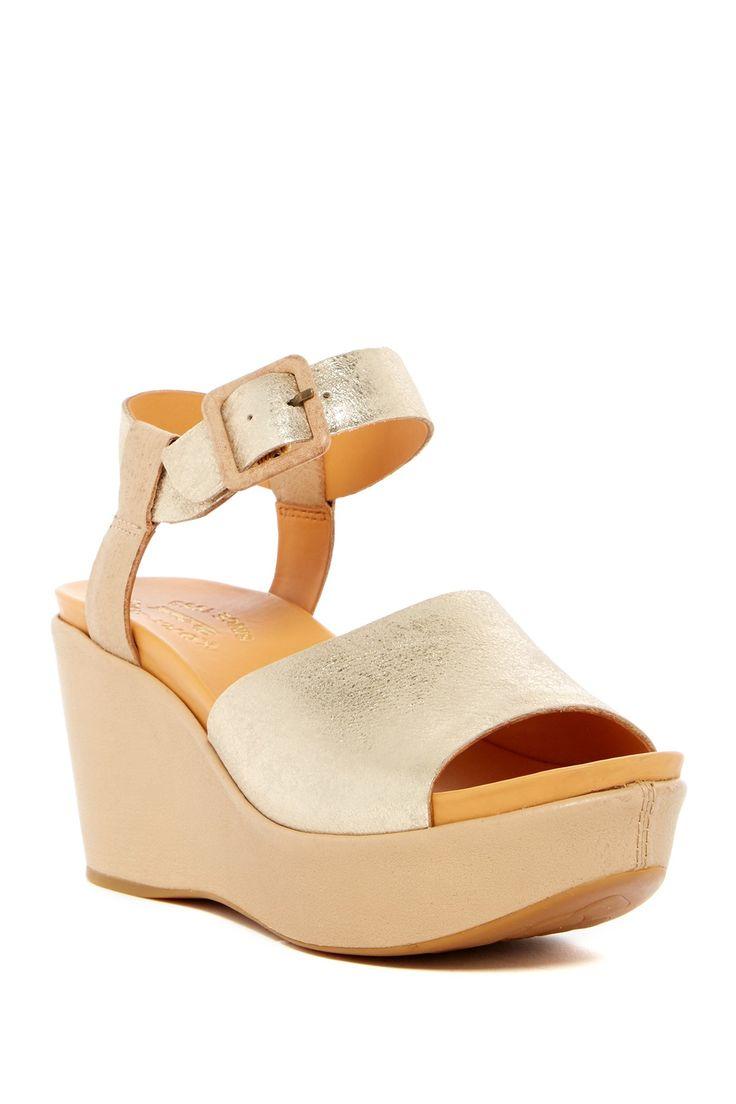 Keirn Platform Wedge Sandal