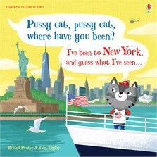 Usborne Picture Books - Pussy Cat, Pussy Cat, Where Have You Been?