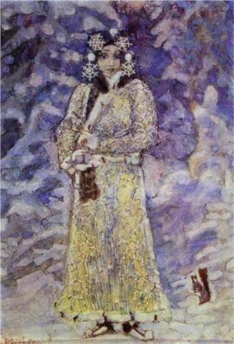 The Snow Maiden - Mikhail Vrubel