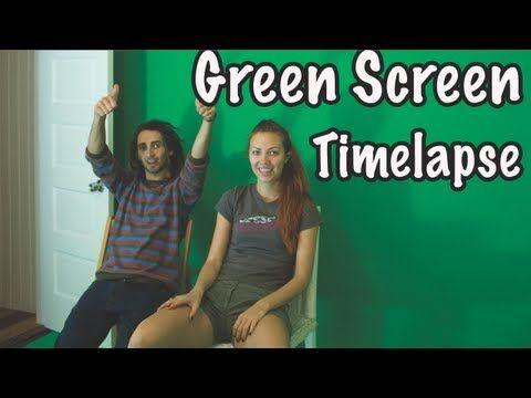 Green Screen Timelapse!