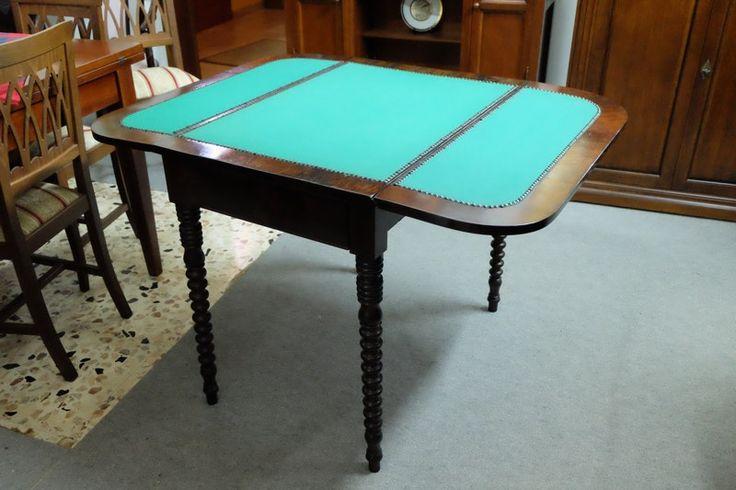 Tavolo da gioco - Antiquariato Siciliano