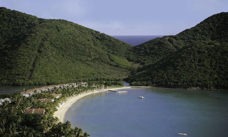 Carlisle Bay Aerial View Antigua Hotels