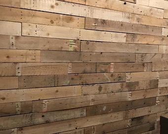 Shiplap No Lap Boards 50 Sqft Etsy In 2020 Reclaimed Pallet Wood Wood Pallets Wood