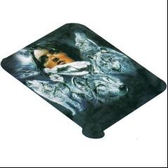 Girl & Wolves BA-60 PSNO Korean Mink Queen Blanket