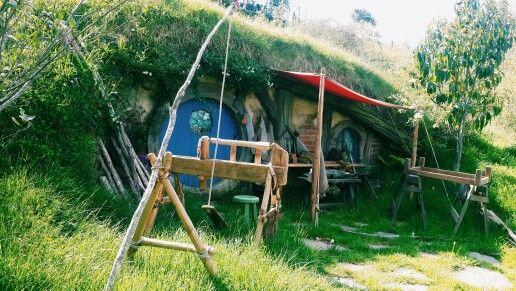 #hobbiton #movieset #thehobbit #thelordoftherings #newzealand