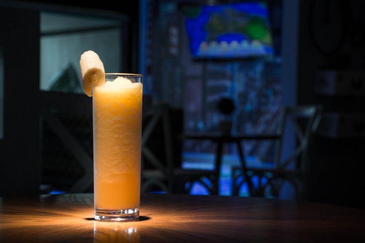 Delicious drink with banana Teens Club at #GrandVelas #RivieraNayari