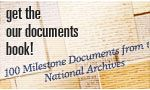 "100 milestone documents of American history-    To help us think, talk and teach about the rights and responsibilities of citizens in our democracy, we invite you to explore 100 milestone documents of American history. These documents reflect our diversity and our unity, our past and our future, and mostly our commitment as a nation to continue to strive to ""form a more perfect union."""