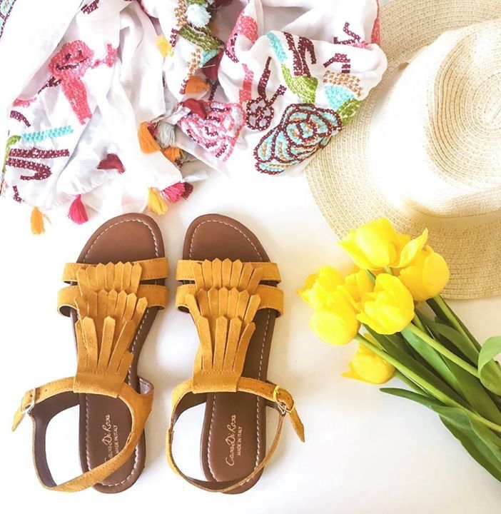 Sun's out, toes out! 🌞🌞🌞🌞🌞  It's all about the fringe this Summer, should we make our mark in mustard or be bold in black?  These are premium Italian Leather and Made in Italy 🇮🇹   Available up to UK 8 - £25.00  Shop here: https://www.avon.uk.com/store/beckykellaway