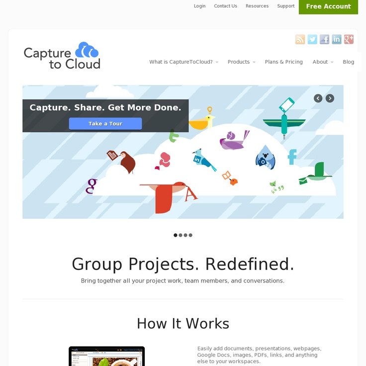 Capture, Collect and Organize Any Web Page, Image or Doc with CapturetoCloud