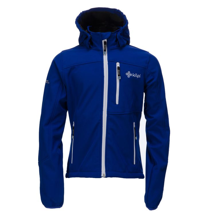 Kilpi, Elio Kinder Softshell Jas, blauw (Ski kleding kinderen)