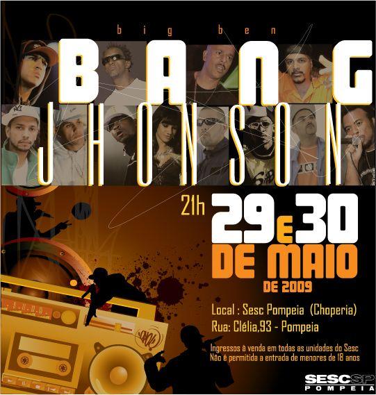 """As famílias RZO e Racionais, que formam o Big Bang Johnson, sobem ao palco pela primeira vez, o show acontece no Sesc Pompéia, nos dia 29 e 30, às 21h. Os maiores hits de artistas como Mano Brown, Ice Blue, Helião, Sandrão, Conexão do Morro, Du Bronks, Dom Pixote, Quelynah e DJ Cia, entre outros...<br /><a class=""""more-link"""" href=""""https://catracalivre.com.br/geral/agenda/barato/familias-rzo-e-racionais-no-sesc-pompeia/"""">Continue lendo »</a>"""