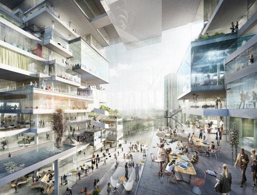 BIG, OMA, Büro-OS To Compete for New Media Campus in Berlin | ArchDaily