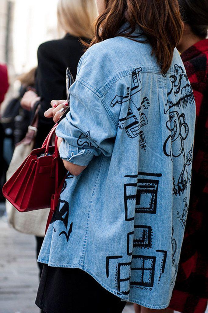 Street Style: jeans y combinaciones denim
