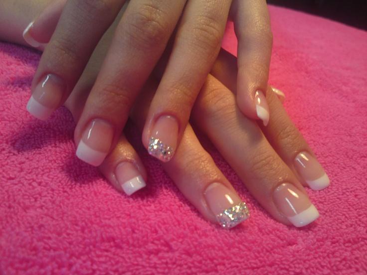 wedding gel french nail art: Hairr Nails, Mani Asked, Make Up Nails