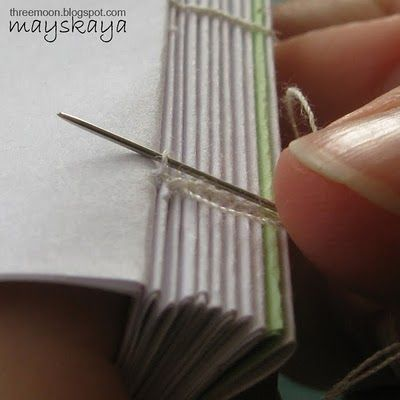 Master Class: Coptic perplet for notebook  (bookbinding)Для Блокнота, Art Journals, Блог Ольги, Котляровой Мастер, Master Class, Коптский Перплёт, Binding Tutorials, Лун Блог, Класс Коптский