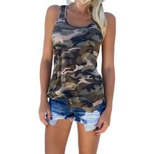 New 2017 Summer Shirt Women tshirts Sexy Backless Camouflage Crochet Halter Crop blusas Fitness tees Vest Shirts F1(China (Mainland))