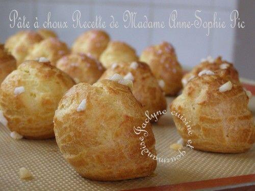 La pâte à choux, par Anne-Sophie Pic Une recette parfaite pour vos chouquettes, éclairs, Paris-Brest ...Jaclyne cuisine et gourmandise