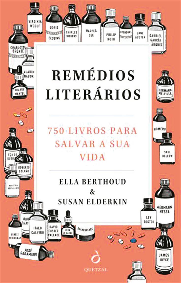 livro Remédios literários