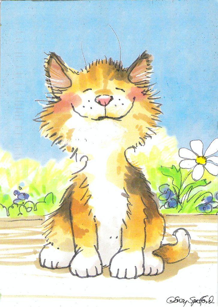 Les 205 meilleures images du tableau Illustrations chats ...