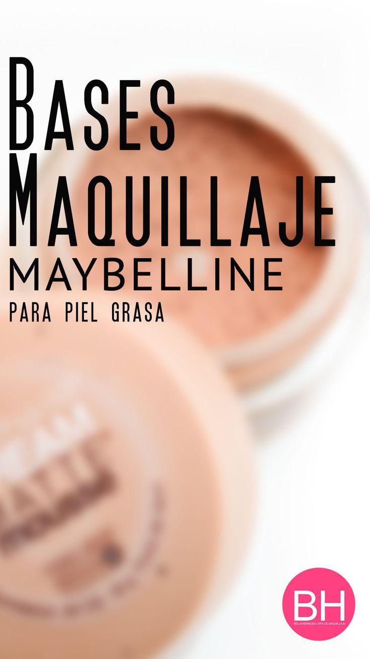 Base de Maquillaje para Piel Grasa Maybelline