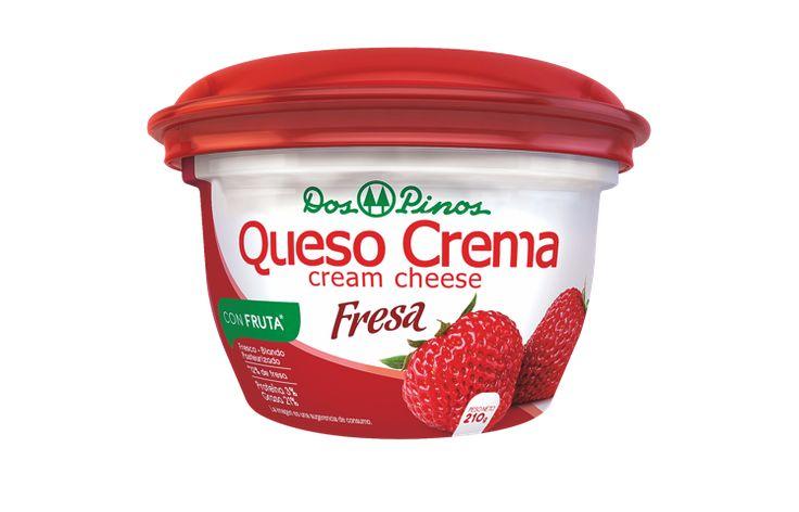 Costa Rica: Dos Pinos lanza queso crema con sabor a fresa – infoleche